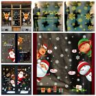 Home Decoration Wall Art Christmas Stickers Decorative Poster Shopwindow Decal