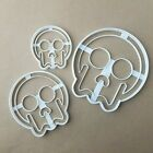 Halloween Skull Happy Shape Cookie Cutter Dough Biscuit Pastry Fondant Stamp