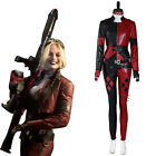 The Suicide Squad Harley Quinn Cosplay Costume Halloween Outfit Full Set