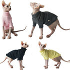 Sphynx Cat Clothes Winter Thick Cotton High Collar Knitwear Hairless Cat Pajamas