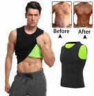 Waist Trainer Neoprene Sweat Sauna Vest Men's Weight Loss Zip Waist Trimmer Belt