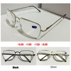 Reading Glasses 6.5 7.0 7.5 8.0 Highly Strength Black Silver Metal Frame