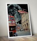 Sci+Fi+Art+Print%2C+Collage+Art+Print%2C+London+Bus+Print%2C+Space+Age+Print