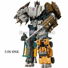 HZX 6 IN One Defensor Bruticus Superion Devastator KO IDW 5 In 1 Figure NO BOX For Sale