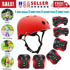 Kids' Protective Gear Set Helmet with Knee Pads, Elbow Pads and Wrist Guards New