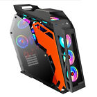 USA ATX/M-ATX Computer Gaming PC Case With Side Windows  with Tempered Glass