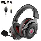 EKSA Gaming Headset Gamer E900 PRO Headset 7.1 Surround Sound Wired Headphones