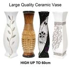 Large 60cm High Modern Vase Ceramic Flower Home Office Decor Decoration Vases