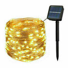 300LED Solar String Lights Waterproof Copper Wire Fairy Party Garden Outdoor