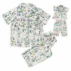 Disney Authentic Animators' Collection Pajama Set for Girls Size 3 and Doll PJ's