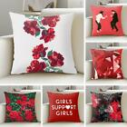 Multiple Lovely Pattern Peach Skin Material Pillow Case Cushion Cover Home Decor