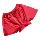 Mens 100% Mulberry Silk Boxer Shorts Active Jogging Shorts Lounge underwear