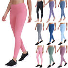 Women Quick Dry Cycling Leggings Running Sports Gym Yoga Joggers Exercise Pants