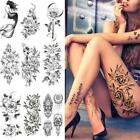 Flower Fake Tattoo Stickers For Woman Flower Temporary US Tattoos M1U5