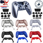 Full Housing Cover Shell Case & Button Mods Replacement For Sony PS5 Controller