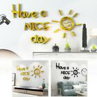 Door Wall Sticker Acrylic Mirror Living Room Home Decoration Dining Room