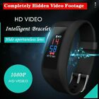 Spy HD 1080P Camera Bracelet Wristband Hidden Lens Watch Video Recorder Monitor