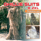 3D Camouflage Ghillie Suit Sniper Tactical Clothes Camo Hunting Suit Jungle Gift
