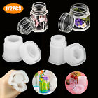 1/2PCS Silicone Bottle Resin Mold DIY Making Epoxy Casting Mould Craft Tool Kit
