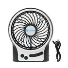 LILENG Rechargeable Portable Fan, Battery Operated or USB Powered Fan, Handheld