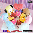 BTS BT21 Official Authentic Goods Lighting Cake Doll + Express Shipping