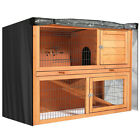 """48"""" Rabbit Hutch Cage Cover Pet Bunny Waterproof Dustcover Outdoor without Cage"""