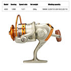 12BB Spinning Fishing Reels Metal Body Left/Right Interchangeable 1000-7000 US