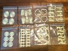 NEW!! Anna Griffin Gold Foil Dresden Embellishments U Pick, buy more & Save $