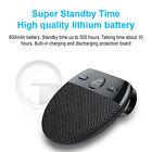 Bluetooth Car Speaker with Visor Clip for Handsfree Calling Drive Talking