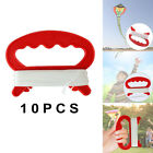 10Pieces D Shape Kite Handle with Line 30meters Kite String Outdoor Game