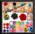 NEW ROSE FLOWER HAIR CLIP BROOCH PIN CORSAGE FASCINATOR