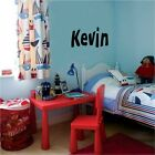 Custom Name Wall Decal Vinyl Sticker Decor Word Letters