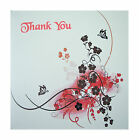 Thank you cards  - pack of 6 cards, blank inside