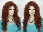Glamorous Feminine 28 in Long  layered Curly Style Blonde Red Brunette Wigs