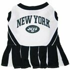 NEW YORK JETS PET DOG CHEERLEADER DRESS OUTFIT ALL SIZES