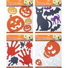 Wall Stickers Room Decor Spooky Horror Halloween Party Glitter Decorations New