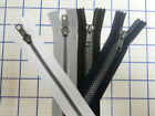 "11"" Closed Zippers White Black Grey Blue LOT 50 500 1000 man-bags MURSES art"