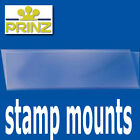 Prinz Stamp Mount Strips - standard top opening clear backed - per 25