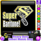 Baritone Super - Sheet Music & Accessories Personalised Bag by MusicaliTee
