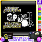 Drum Kit Play For A Pint - Sheet Music & Accessories Custom Bag by MusicaliTee