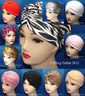 NEW FULL HEAD TURBAN HEADWRAP INDIAN STYLE HEAD WRAP BANDANA HAT HAIR LOSS CHEMO