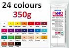 Staedtler 350g Block of FIMO CLASSIC POLYMER CLAY 24 COLOURS AVAILABLE