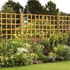6' x 3' Large Square Trellis Panels Pressure Treated Wooden Timber Fencing