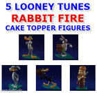 5 NEW LOONEY TUNES RABBIT FIRE MINI FIGURE CAKE TOPPER DECORATIONS YOU PICK