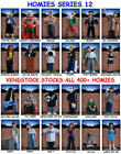 HOMIES SERIES 12 FIGURE NEW RETIRED YOU PICK ONE MINIFIGURE OR COMPLETE SET!