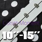 "2"" Wide Standard White Coated Corset Steel Busk Corset Sewing Supplies"