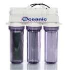 4 Stage Aquarium Reef Filter Reverse Osmosis Water Filtration RO/DI System 0 PPM