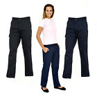 Ladies Cargo Combat Work Trousers Work Wear- All Sizes!