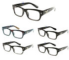 Mens Clear Lens DG Designer Eyeglasses Thick Black Brown 6 Styles DG23042 multi