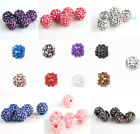 10pcs Resin Acrylic Pave Disco Ball Beads Bracelet  Pick